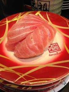 Sushi in Akihabara