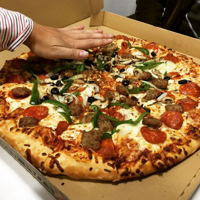 Huge Pizza from Costco