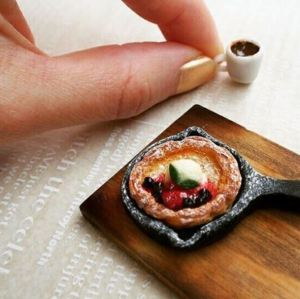 Miniature Pancake and Coffee