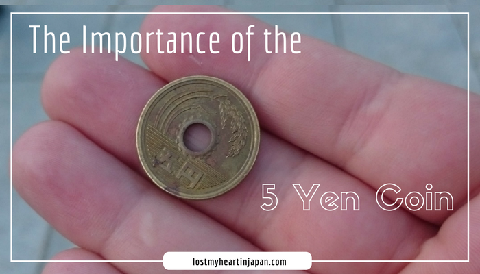 japan in pictures the importance of the 5 yen coin i lost my